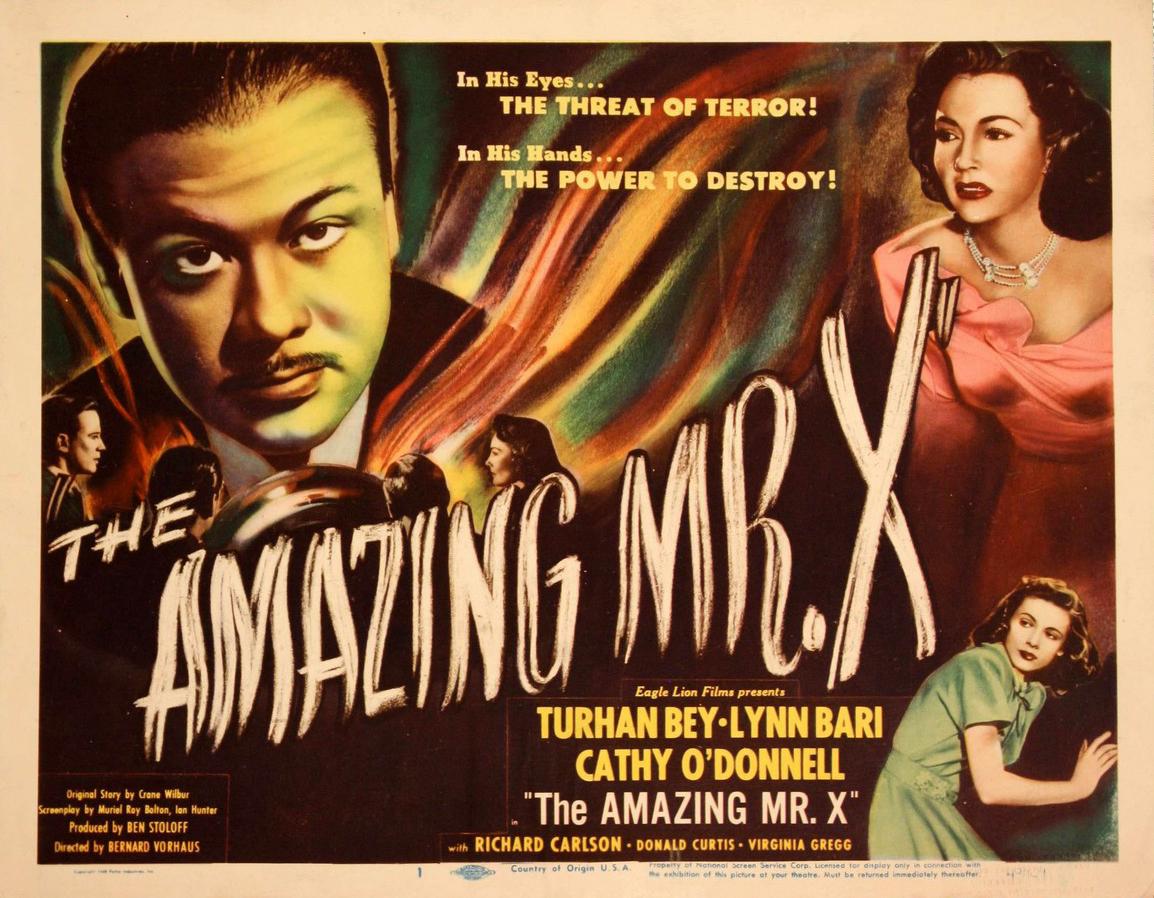 The Amazing Mr.X - 1948 - poster