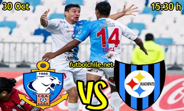 Ver stream hd youtube facebook movil android ios iphone table ipad windows mac linux resultado en vivo, online:  Deportes Antofagasta vs Huachipato,