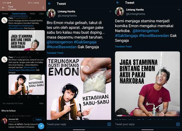 "Bintang Emon Diserang Gerombolan BuzzeRp Dengan Fitnah Narkoba Gara-gara Video ""GAK SENGAJA"""