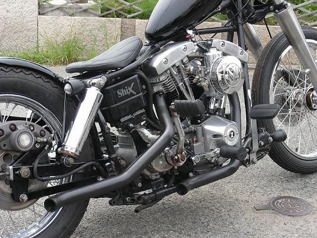 Harley Davidson Shovelhead 1979 By Shix Motorcycles Hell Kustom