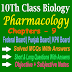 Pharmacology 10th Biology Chapter Nine Notes