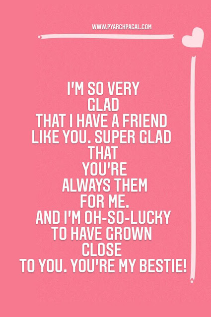 friendship in english