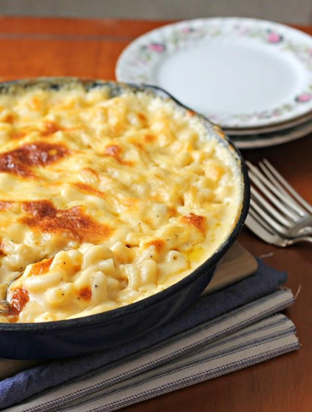 Fırında Peynirli Makarna Tarifi >>>