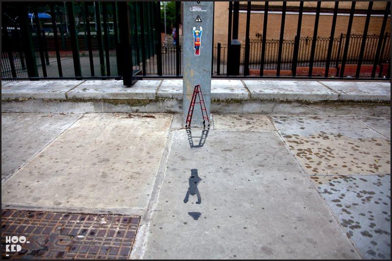 Pablo Delgado — Miniature Street Art in Shoreditch, London