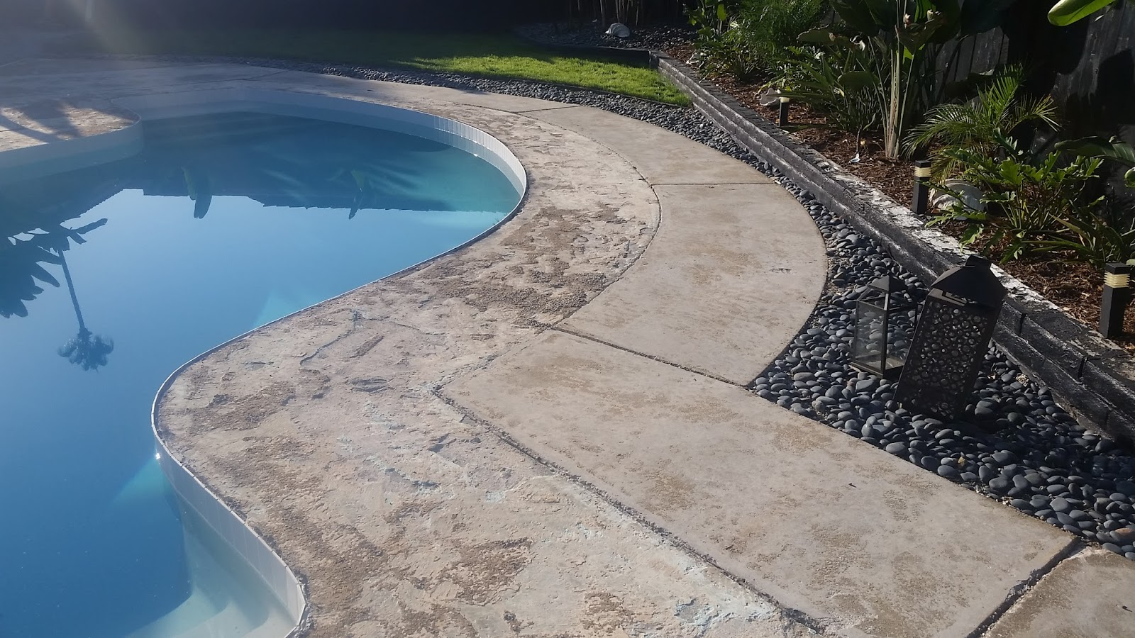 Epoxy Pebble Stone Concrete Resurfacing Futura Stone