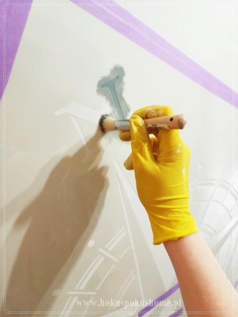 jak malować zwór na ścianie