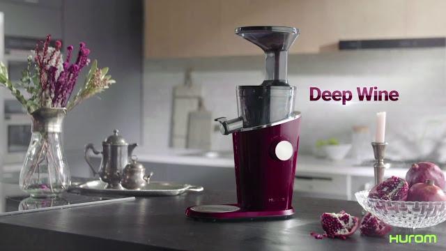 hiết kế mới, ít tiếng ồn cho phép bạn sử dụng máy ép trái cây Hurom bất cứ lúc nào trong ngày mà không lo quá ồn