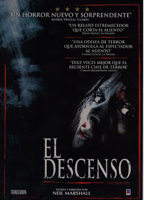 The Descent 2005 DVD R1 NTSC Latino