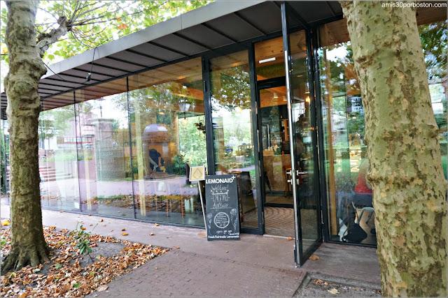Entrada de la Cafetería Dignita Hoftuin en Amsterdam
