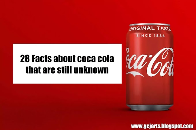 28 Facts about coca cola that are still unknown