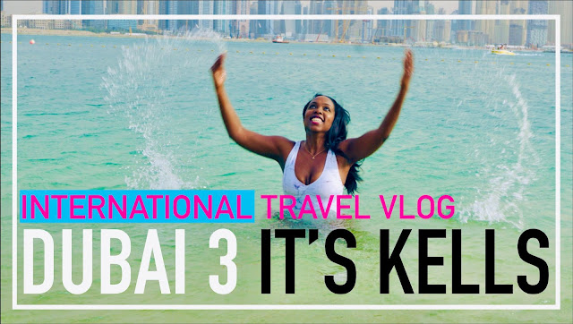 DUBAI TRAVEL VLOG - BEST ADVICE FOR A FUN SOLO TRIP + BEACH PHOTOSHOOT - IT'S KELLS