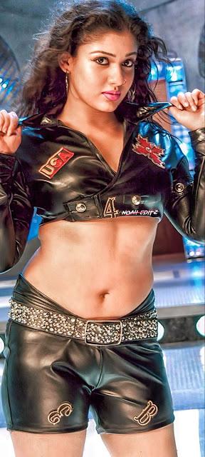 Actress Nayanthara Cleavage and Navel Actress Trend
