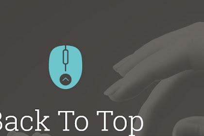 Membuat ikon sosial plus back to top tanpa javascript
