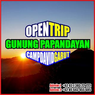 Open Trip Gunung Papandayan 2021 Via Camp David Garut 2H1M