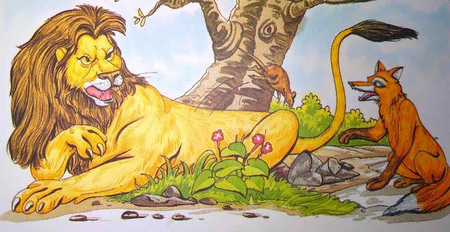 शेर, चूहा और लोमड़ी New Stories In Hindi For Children