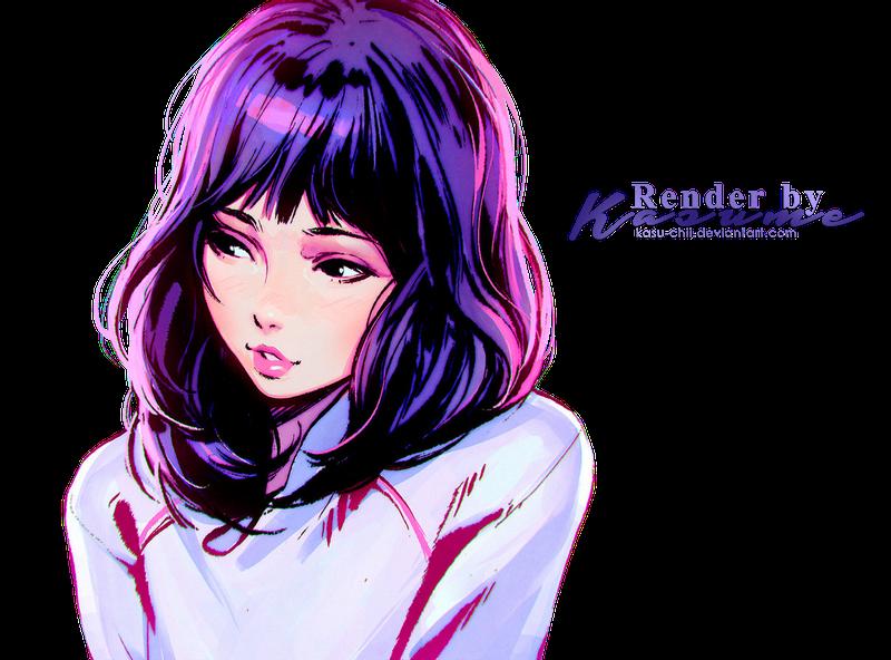 Render #8 ] Sumi - Kuvshinov-Ilya