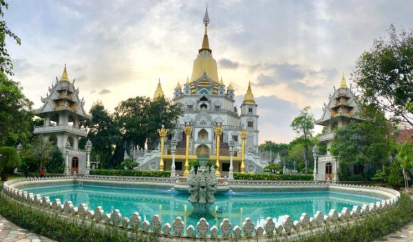 Chùa Bửu Long Quận 9 TP. Hồ Chí Minh - Ngôi chùa đẹp như tranh