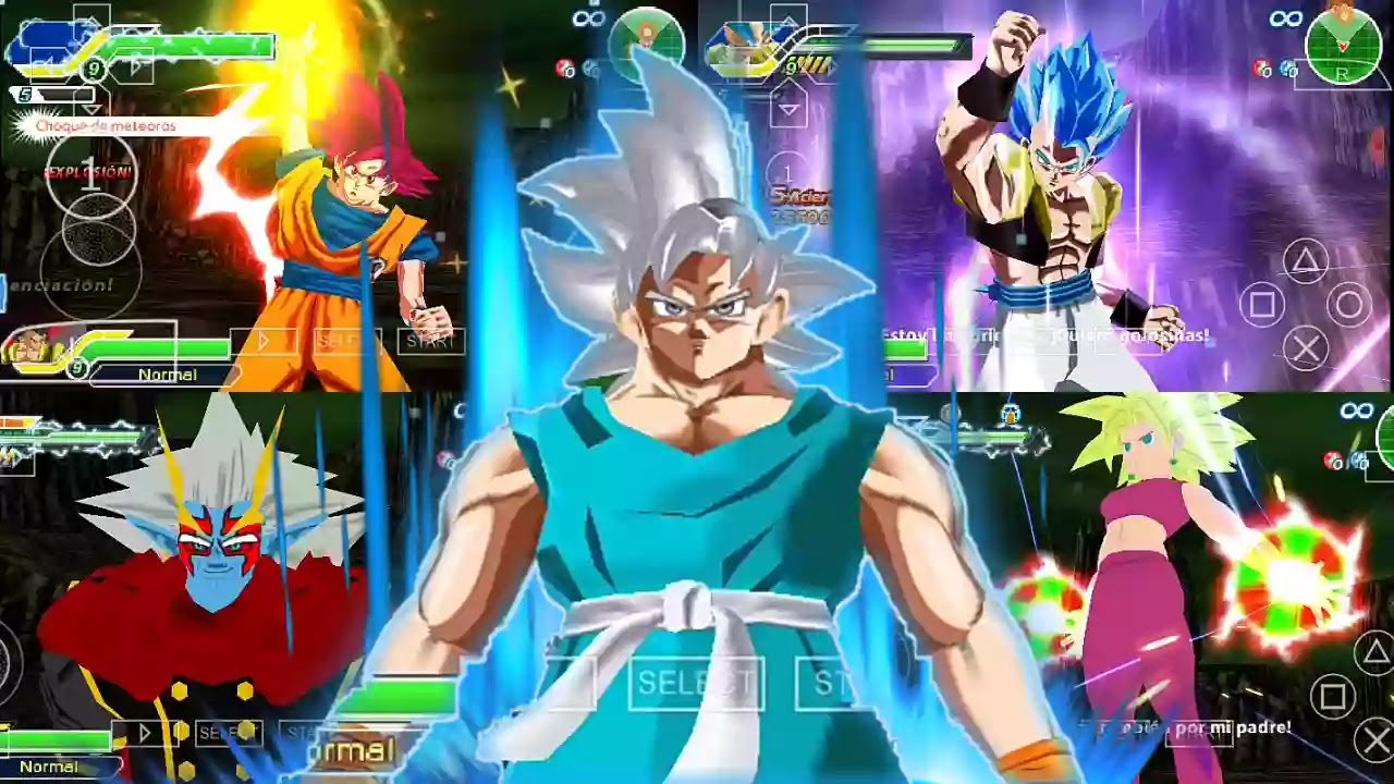 DBZ TTT MOD Xenoverse 2 PSP ISO Download