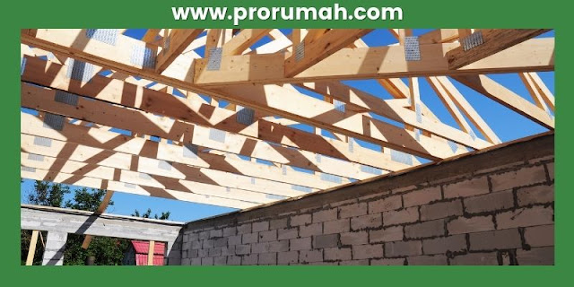 pemanfaatan kayu kempas - rangka atap rumah