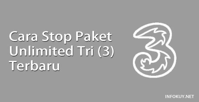 Cara Stop Paket Unlimited Tri (3)