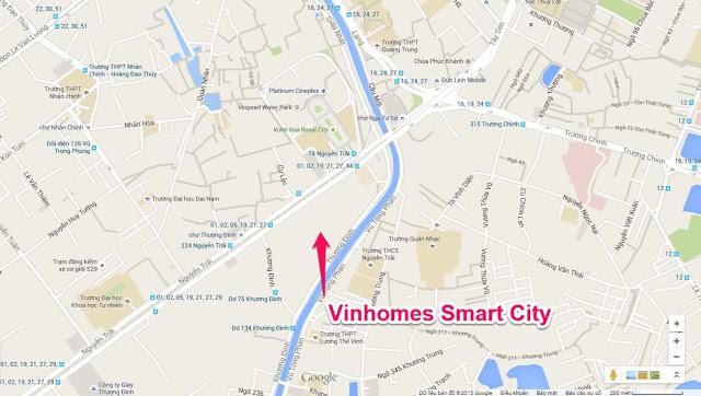 VINHOMES SMART CITY NGUYỄN TRÃI – Khu đô thị hiện đại và cao cấp bậc nhất Việt Nam