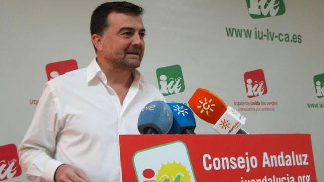Antonio Maillo renuncia a su escaño y la coordinación de IU Andalucía