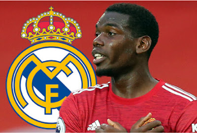 United Fans Fear Losing Paul Pogba To Real Madrid