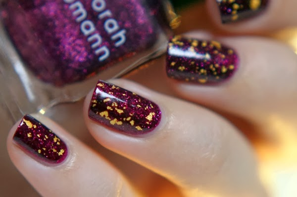 NOTD Feestdagen | Deborah Lippmann Good Girl Gone Bad