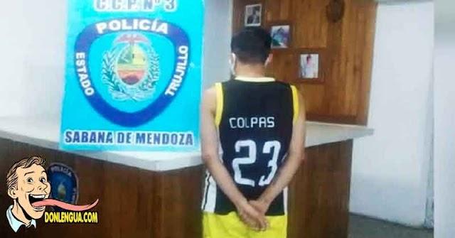 Otro extorsionista fue detenido en el Estado Trujillo