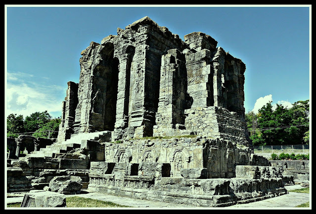 Martand surya mandir , Lalitadity history in hindi