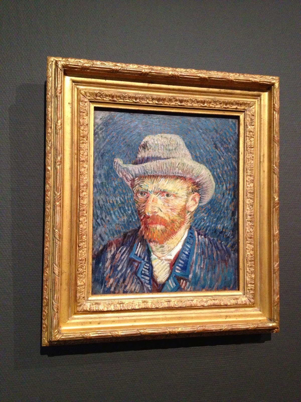 Amsterdam - One of many of Van Gogh's self-portraits