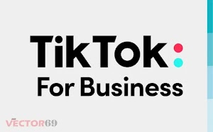 Logo TikTok For Business (.SVG)