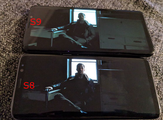 Many Samsung Galaxy S9 owners have Black Crush and Gradient Banding