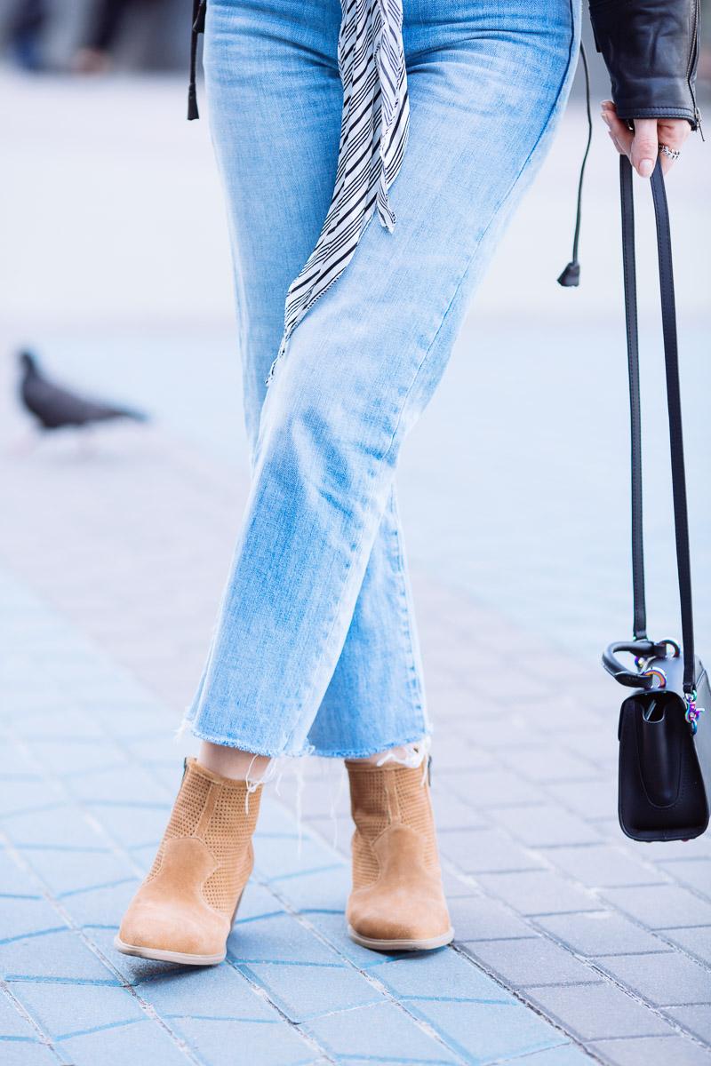модные ботинки в ковбойском стиле