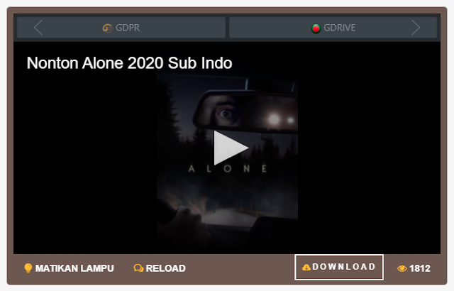 Nonton Film Alone (2020) Sub Indo Full Movie   Link 2021