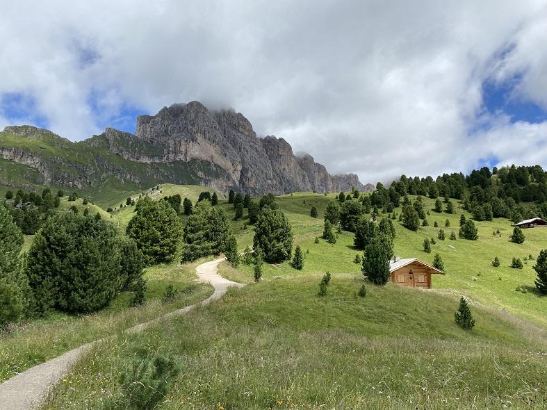 La vista panoramica a Col Raiser