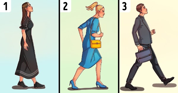 The Way You Walk Reveals About Your Personality