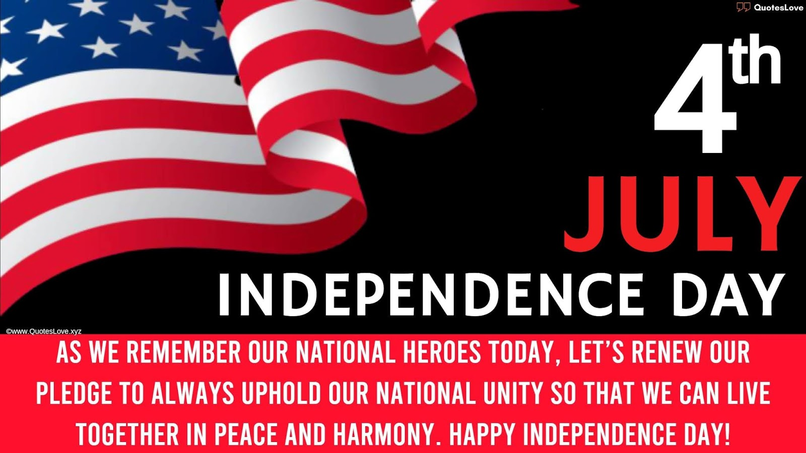 [4th July] Independence Day In America Quotes, Wishes, Messages, Greetings, Sayings, Images, Pictures, Poster, Wallpaper