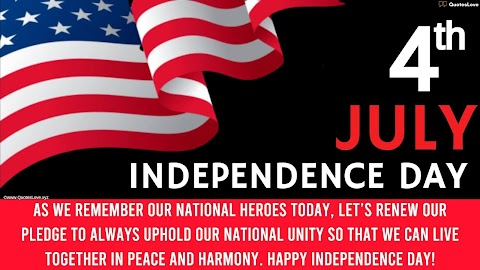 30 Best [4th July] Independence Day In America 2021: Quotes, Wishes, Messages, Greetings, Sayings, Images, Pictures, Poster, Wallpaper