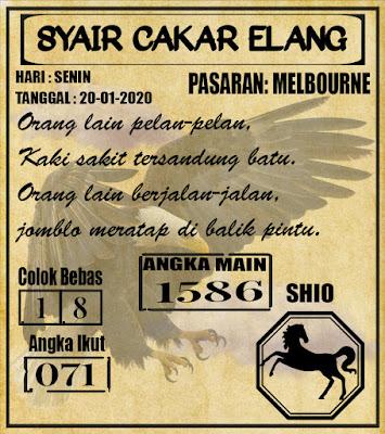 SYAIR MELBOURNE 20-01-2020