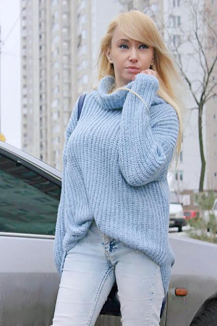Shopping in GAMISS: Зимний outfit с ботфортами и теплым свитером / обзор, отзывы