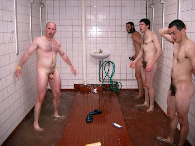 boys swimming naked