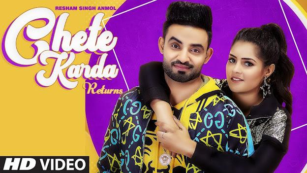 Chete Karda Returns Lyrics : Resham Singh Anmol | Babbar | PS Chauhan | Latest Punjabi Song 2020 Lyrics Planet