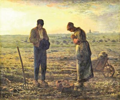 Jean-François Millet: El Ángelus, 1857
