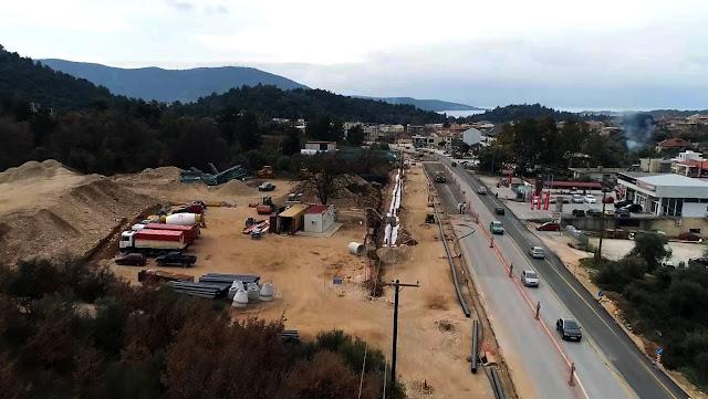 Ήγουμενίτσα: Σε εξέλιξη οι εργασίες διαμόρφωσης της εισόδου της πόλης της Ηγουμενίτσας