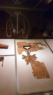fragments of the clothes of Cosimo I in the fashion museum palazzo pitti