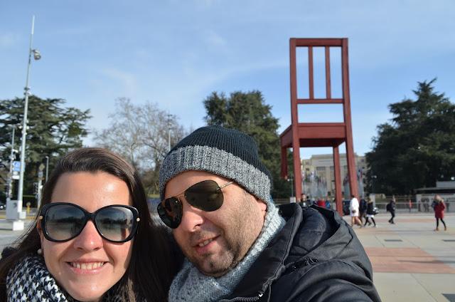 Genebra também é muito famosa pelo lado politico e diplomático