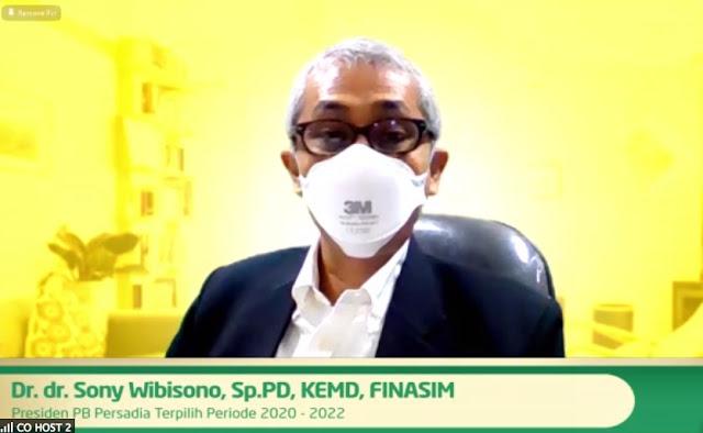Dr. Sony Wibisono PERSADIA berkolaborasi dengan Diabetasol