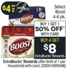 Boost Original Shakes CVS Deal 4/11-4/17