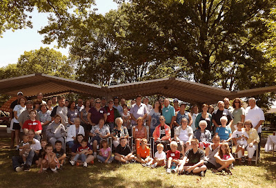 Weber Kuhn Family assembled for the 2012 Reunion